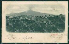 Catania Nicolosi PIEGHINA cartolina XB1170