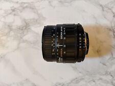 Sigma 24-70 Nikon F-Fit 1:3. 5-5.6 lente asférica enfoque automático