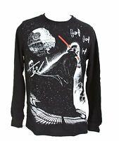 Star Wars Death Star Darth Vader Light Saber Tie Fighter Black Thermal T-Shirt