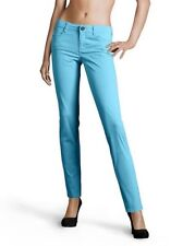 Brand new with tags - Stefanel Ladies Sky Blue Cotton Trousers. – Size 6