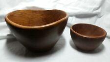 Kalmar Teak Wooden Bowls