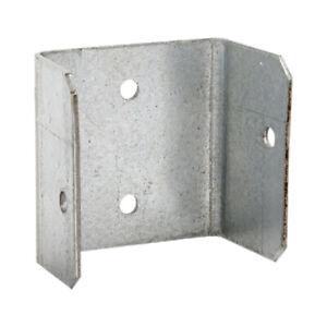 30 PACK - 50mm FENCE & TRELLIS CLIPS BRACKET PANEL FIXING GARDEN POST FENCING
