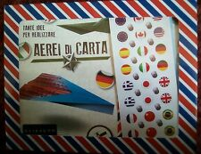 Paper Plane Kit by Gribaudo (Italy). Never used