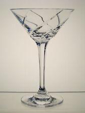 "OLYMPUS MIKASA CRYSTAL Martini Glass 6 3/4"""