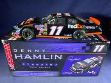 B5-64 DENNY HAMLIN #11 FED EX EXPRESS - 2006 MONTE CARLO - DAMAGED WINDSHIELD
