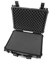 "Waterproof 16"" Drone Case Fits DJI Mavic Pro 2 with Customizable Foam Interior"