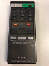 Remote Control: Sony RMT-216 Betamax