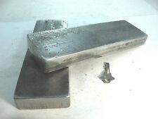 "LONG 20 T SHOP PRESS PLATES 1"" X3"" X9-1/2"" H-Frame Ground  steel Arbor BED Bar"