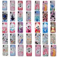 For iPhone 11 Pro Max XS 7 8+ Cute Cartoon Princess Disney shockproof phone case