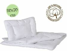 De Luxe Matelassé Couette & Oreiller pour bébé berceau ou landau 100% coton