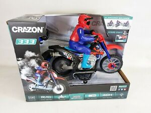 RC Racing Motorcycle Remote Control Motorbike Flying Toy Kids Birthday Xmas Gift