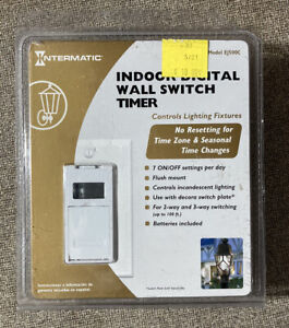 INTERMATIC INDOOR DIGITAL WALL SWITCH TIMER MODEL EJ500C NEW  Free Shipping