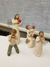 Willow Tree Lot of 4 Assorted figurines.