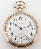 """.Very Rare 1910 South bend """"The Studebaker"""" 21 Jewel OF Cal 229 16s Pocket Watch"""