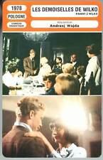 FICHE CINEMA : LES DEMOISELLES DE WILKO  Andrzej Wajda 1978 Young Girls Of Wilko