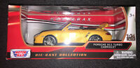 Porsche Carrera 911 Turbo Cabriolet 1:24 Scale Diecast Car By Motor Max