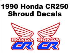 Tank decals for 1990 Honda CR250r Dirtbike    CR250 CR 250 250r
