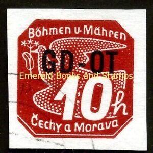 EBS Bohemia and Moravia 1939 - Printed Matter - GD-OT - Michel 51 Used