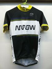 EUC Primal Black White Arrow Five Years Out 3/4 Zip Cycling Jersey Size Small