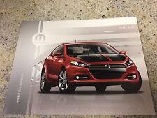 2013 Dodge Dart Accessories 12-page Original Dealer Brochure