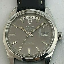 TUDOR  OYSTER PRINCE PRSIDENT  DAY DATE JUMBO 38 MM  Ref 7017/0 Automatic  1969