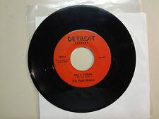 "NIGHT WALKERS:Stix & Stones 2:08-Give Me Love 2:10-U.S. 7"" Detroit Records 2648"