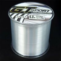100M/300M/500M Nylon Line Mono Clear Super Strong GT Sport Sea Fishing Line