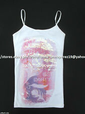 75% OFF! AUTH AEROPOSTALE WOMEN'S SEQUIN FEATHER CAMI X-SMALL BNEW US$ 22.5+
