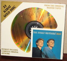 DCC GZS 1141 GOLD CD: EVERLY BROTHERS - The Everly Bros. Best - OOP 2000 SEALED