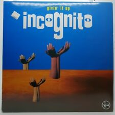 """INCOGNITO - GIVIN' IT UP - VINYL MIX 12"""" - NM/M - PR.IN UK 1993"""