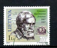 Lithuania 2007 SG#905 Vytautas Kazimierasv Jonynas Used #A26114