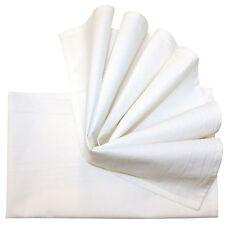 Aunt Martha's Flour Sack Classic White Kitchen Dish Tea Towels Set of 2