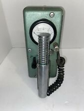 Vintage Victoreen Thyac Survey Meter Model 389c Civil Defense Cleveland Oh