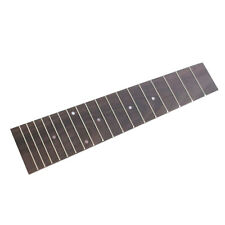 Rosewood 18 Frets Fingerboard Fretboard White Pearl Inlay for Tenor Ukulele