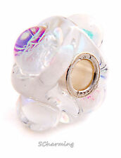 Authentic Trollbeads Glass Dichroic Ice 62014 (Incl. Orig. Packaging)