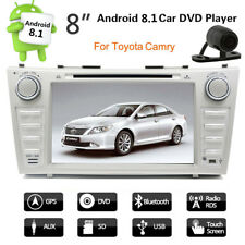 Android 8.1 Car DVD Player GPS Navi Radio Stereo For Toyota Camry 2008-2011 +CAM