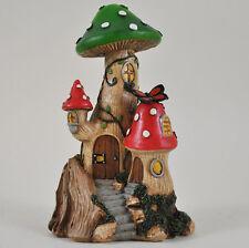 Garden Fairy Mushroom House Decorative Ornament Secret Gift