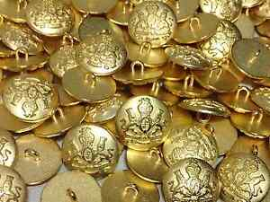 NEW BEST QUALITY 20mm / 15mm METAL COAT/BLAZER BUTTONS - UK SELLER -FREE POSTAGE