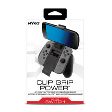 Nyko Nintendo Switch Clip Grip Power NEW