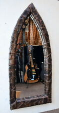 TO ORDER - Gothic Arch Steampunk Coated Solid Pine Mirror 100 cm long Hand Made