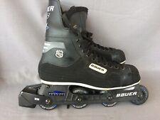 Bauer NHL RH 300 Roller Hockey Inline Skates Superlight Chassis Sz 11 Canada