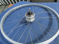 Shimano Nexus 7 speed, 26 x 1.75 Coaster Brake hub and Rim