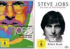 2 DVDs * STEVE JOBS SET (DIE ERFOLGSSTORY / THE MAN IN THE MACHINE) # NEU OVP $+