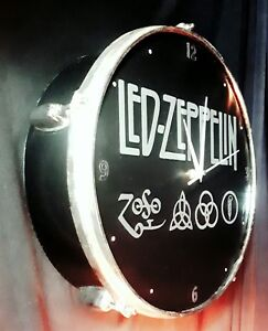 LED ZEPPELIN - Upcycled drum clock