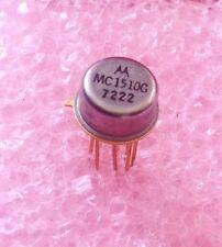 1 Pcs New MC1510G Motorola = AMPEX 586-162 NOS Metal Can