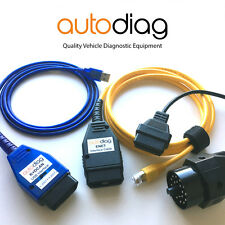 Complete BMW Diagnostic & Coding Package ✧ K+DCAN ENET 20pin Adapter ✧ Tools