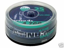Platinum DVD+RW - 4.7 GB 4x - 25er Spindel (100603)