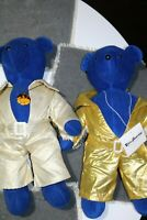 2 Vintage North American Bear Co Elvis Bearsly Bears - Toy Plush Bears 1979
