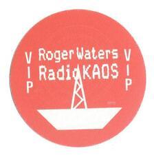 Roger Waters - Radio Kaos - Konzert-Satin-Pass VIP - Schönes Sammlerstück