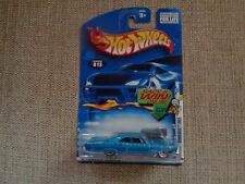 Hot Wheels Pontiac Bonneville 1965 #013 Blue 2001
